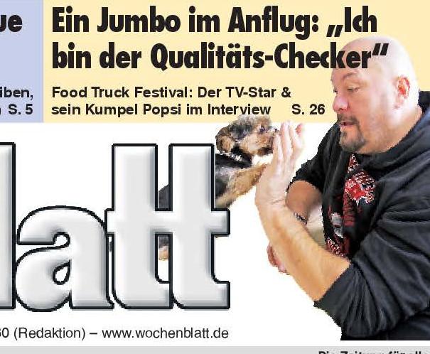 Wochenblatt Landshut – Vorbericht zum 3. Lower Bavarian Food Festival.